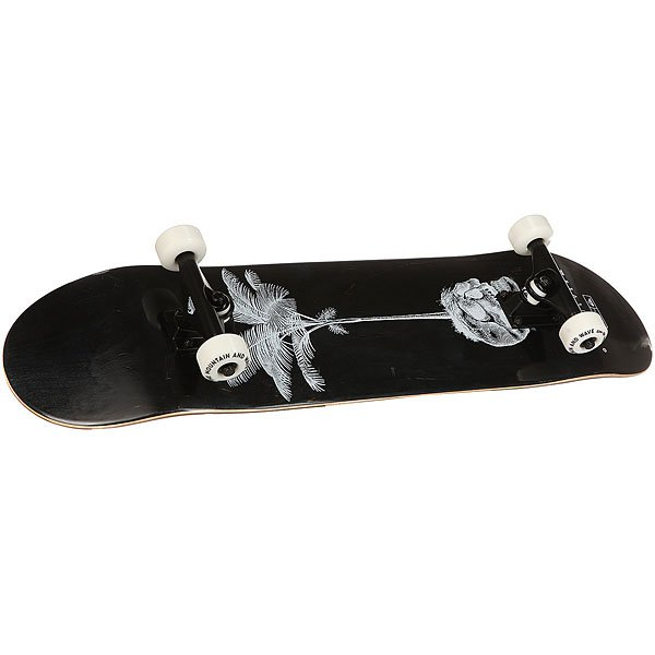 Скейтборд в сборе Quiksilver Anaskull Black/White 32 x 8 (20.3 см)