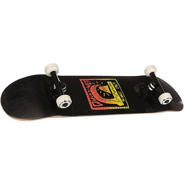 Скейтборд в сборе Quiksilver Back In Black Black 32 x 8 (20.3 см)