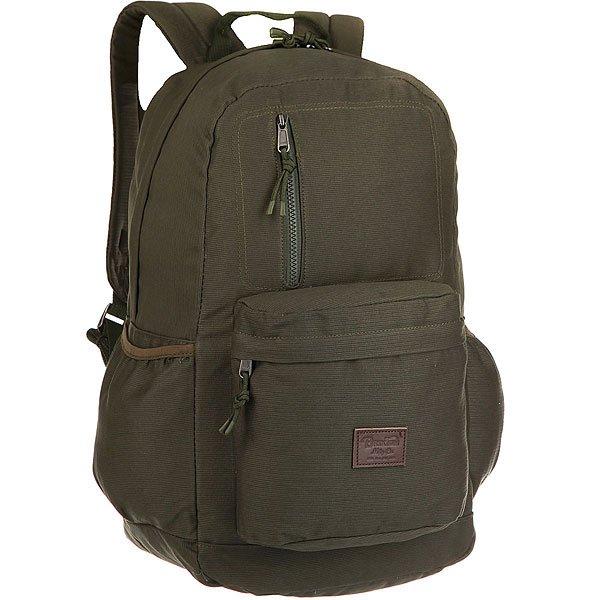 Рюкзак туристический Brixton Bellows Backpack Olive<br><br>Цвет: зеленый<br>Тип: Рюкзак туристический<br>Возраст: Взрослый