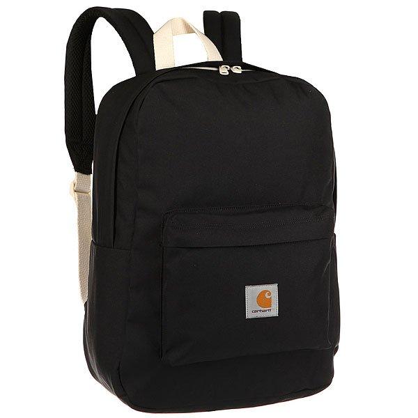 Рюкзак городской Carhartt WIP Wip Watch Backpack Black<br><br>Цвет: черный,белый<br>Тип: Рюкзак городской<br>Возраст: Взрослый