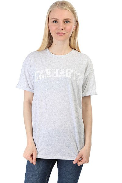 Футболка женская Carhartt Carrie Yale Ash Heather