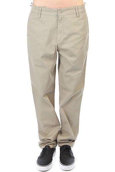 Штаны прямые женские Carhartt WIP Vesper Pant Gobi Rinsed<br><br>Цвет: бежевый<br>Тип: Штаны прямые<br>Возраст: Взрослый<br>Пол: Женский