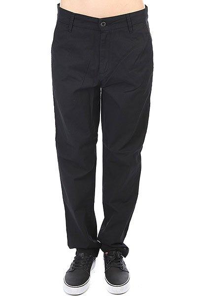 Штаны прямые женские Carhartt WIP Vesper Pant Rinsed Black