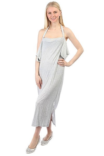 Платье женское Cheap Monday Sway Dress Sport Melange<br><br>Цвет: серый<br>Тип: Платье<br>Возраст: Взрослый<br>Пол: Женский