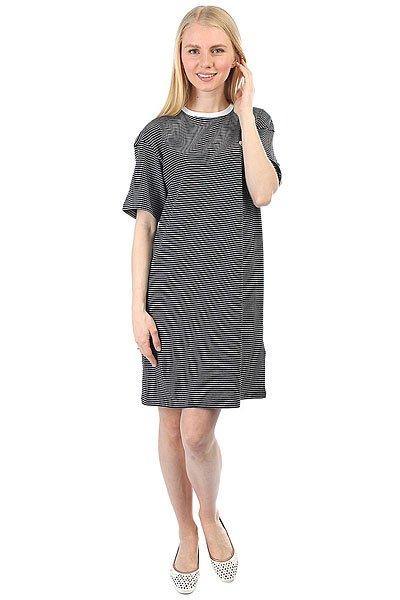 Платье женское Carhartt WIP Darcy Dress Black/White<br><br>Цвет: черный,белый<br>Тип: Платье<br>Возраст: Взрослый<br>Пол: Женский