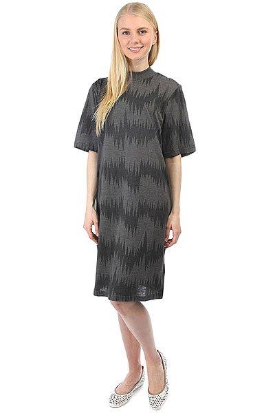 Платье женское Cheap Monday Smash Dress Lightning Dark Melange<br><br>Цвет: серый<br>Тип: Платье<br>Возраст: Взрослый<br>Пол: Женский