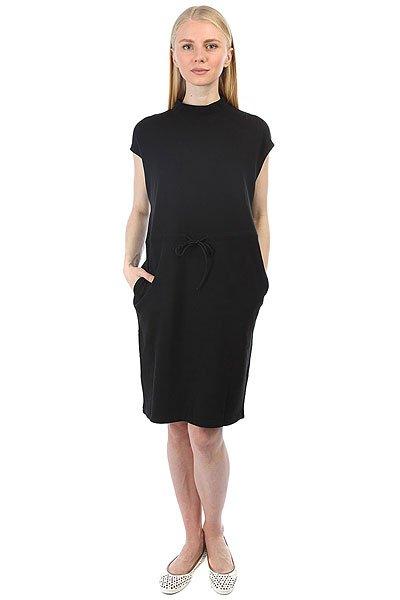 Платье женское Cheap Monday Sonata Dress Black<br><br>Цвет: черный<br>Тип: Платье<br>Возраст: Взрослый<br>Пол: Женский
