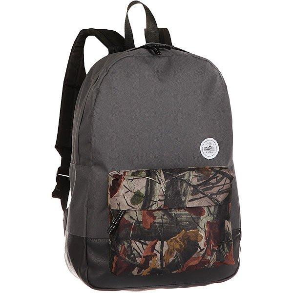Рюкзак городской Extra B290/5 GreyУдобный и практичный рюкзак для каждодневного использования.Характеристики:Вместительное внутреннее отделение.Внешний карман на молнии. Плотная износостойкая ткань с водонепроницаемой пропиткой. Контрастная подкладка. Регулируемые смягченные лямки.<br><br>Цвет: серый,мультиколор<br>Тип: Рюкзак городской<br>Возраст: Взрослый