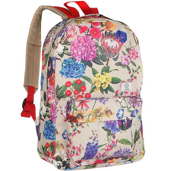 Рюкзак городской женский Extra B316 Real MultiУдобный и практичный рюкзак для каждодневного использования.Характеристики:Вместительное внутреннее отделение.Внешний карман на молнии. Плотная износостойкая ткань с водонепроницаемой пропиткой. Контрастная подкладка. Регулируемые смягченные лямки.<br><br>Цвет: мультиколор<br>Тип: Рюкзак городской<br>Возраст: Взрослый<br>Пол: Женский