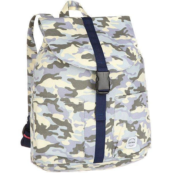 Рюкзак туристический Extra B315 Light BlueВместительный туристический рюкзак, который ярые путешественники оценят по достоинству. Характеристики:Утяжка горловины. Защитный клапан с застежкой – карабином. Два лицевых кармана. Ручка для переноски. Внутренний карман на молнии.<br><br>Цвет: бежевый,голубой,зеленый,синий,камувляжный<br>Тип: Рюкзак туристический<br>Возраст: Взрослый