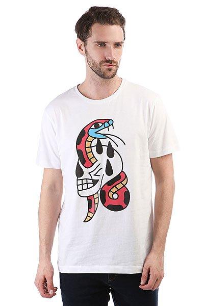Футболка Extra Snake White<br><br>Цвет: белый<br>Тип: Футболка<br>Возраст: Взрослый<br>Пол: Мужской