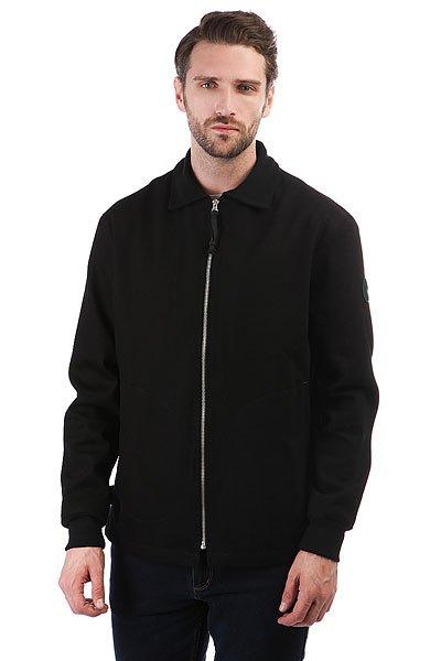 Куртка Devo Aberdeen BlackМужская куртка из плотного хлопка классического прямого кроя от российского бренда Devo.Технические характеристики: Подкладка - полиэстер.Классический отложной воротник.Прямой крой.Трикотажные манжеты.Карманы для рук, потайной карман на молнии.Застежка на металлической молнии.<br><br>Цвет: черный<br>Тип: Куртка<br>Возраст: Взрослый<br>Пол: Мужской