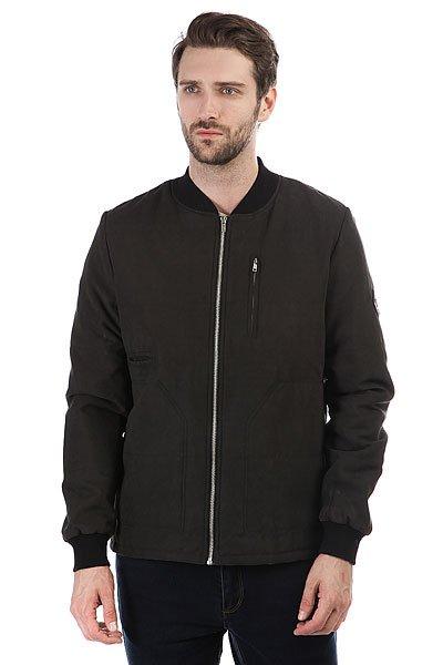 Бомбер S.G.M. Ulfe BlackКлассическая мужская куртка московско-берлинской марки Such a Great Moment.Технические характеристики: Подкладка - полиэстер.Прямой крой.Эластичные трикотажные манжеты и воротник.Карманы для рук и потайной карман.Застежка на металлической молнии.<br><br>Цвет: черный<br>Тип: Бомбер<br>Возраст: Взрослый<br>Пол: Мужской