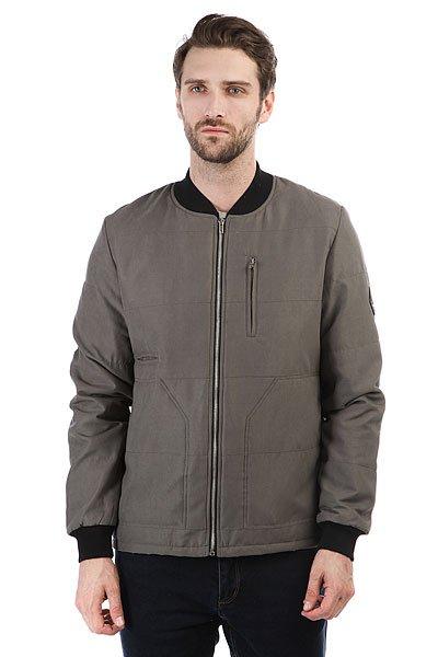 Бомбер S.G.M. Ulfe GreyКлассическая мужская куртка московско-берлинской марки Such a Great Moment.Технические характеристики: Подкладка - полиэстер.Прямой крой.Эластичные трикотажные манжеты и воротник.Карманы для рук и потайной карман.Застежка на металлической молнии.<br><br>Цвет: серый<br>Тип: Бомбер<br>Возраст: Взрослый<br>Пол: Мужской