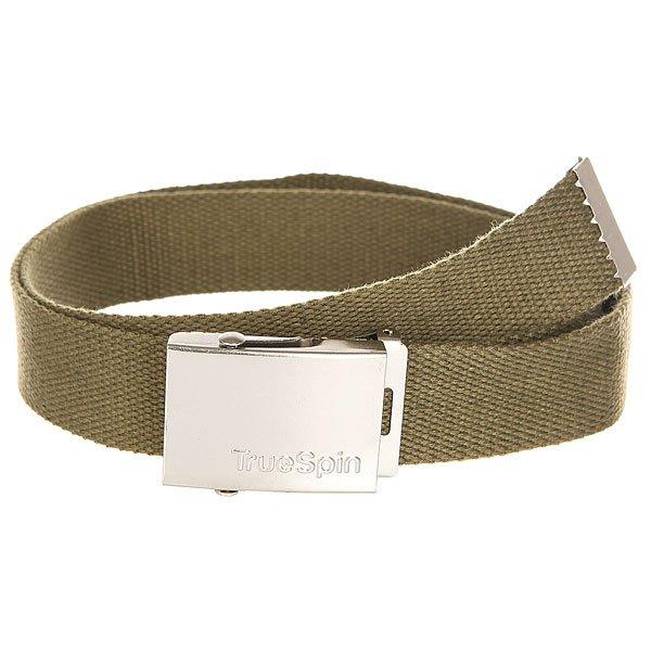 Ремень TrueSpin Belt Military Olive<br><br>Цвет: зеленый<br>Тип: Ремень<br>Возраст: Взрослый<br>Пол: Мужской