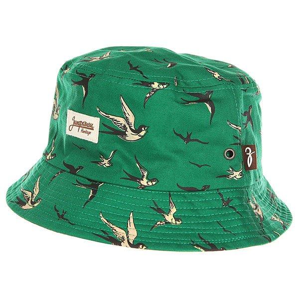 Панама Запорожец Lastochki Green<br><br>Цвет: зеленый<br>Тип: Панама<br>Возраст: Взрослый<br>Пол: Мужской