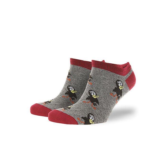 Носки низкие Запорожец Галчонок Серый Меланж