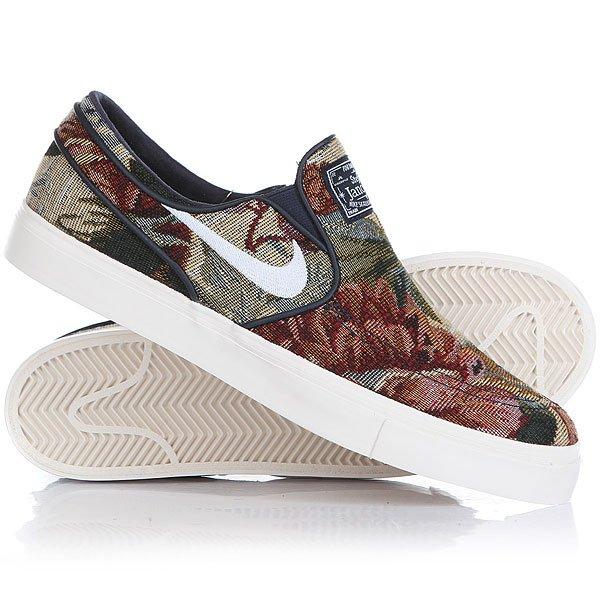 Слипоны Nike Zoom Janoski Slp Cnvs Prm Multicolor