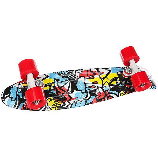 Скейт мини круизер Penny Original 22 Ltd Сomic Fusion 6 x 22 (55.9 см) скейтборды penny комплект лонгборд original 22 ss