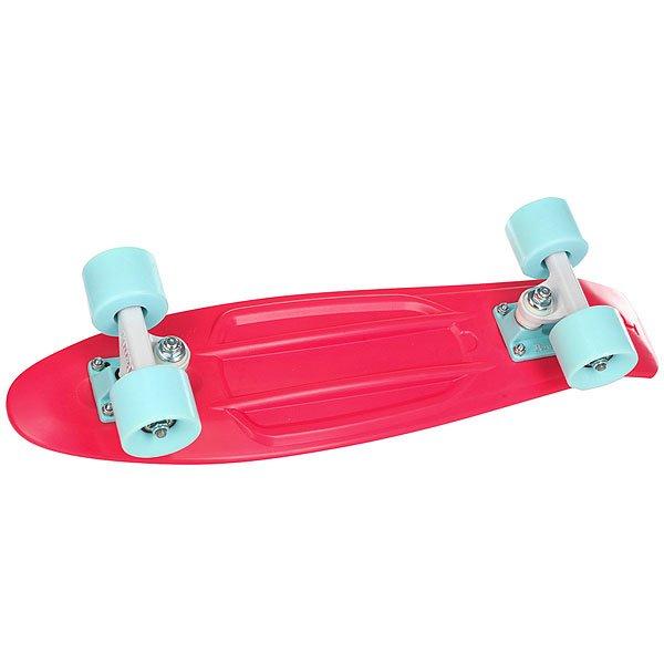 Скейт мини круизер Penny Original 22 Watermelon 6 x 22 (55.9 см)Лонгборд Penny Original 22 - это апгрейд классики из 70-х, исполненный в оригинальном цветовом решении. Это то, с чего всё началось, вся идея Penny в одном скейтборде. Это веселье, свобода и самое высокое качество всех компонентов. Основное достоинство данной модели - универсальность, ведь размер, вес и легкость в управлении делают скейтборд прекрасным средством передвижения в любой день и в любых условиях.Характеристики:Длина: 55,9 см. Ширина: 15,2 см. Вес: 2,7 кг. Подвеска:Custom 3. Колёса: 59 мм. жесткостью 78А. Подшипники: Penny Abec 7.<br><br>Цвет: розовый<br>Тип: Скейт мини круизер<br>Возраст: Взрослый<br>Пол: Мужской