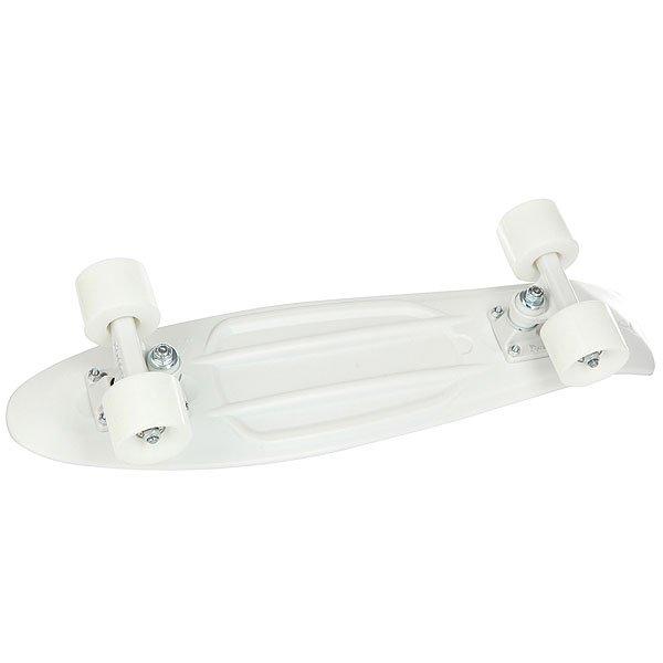 Скейт мини круизер Penny Original 22 White Lightning 6 x 22 (55.9 см)Лонгборд Penny Original 22 - это апгрейд классики из 70-х, исполненный в оригинальном цветовом решении. Это то, с чего всё началось, вся идея Penny в одном скейтборде. Это веселье, свобода и самое высокое качество всех компонентов. Основное достоинство данной модели - универсальность, ведь размер, вес и легкость в управлении делают скейтборд прекрасным средством передвижения в любой день и в любых условиях.Характеристики:Длина: 55,9 см. Ширина: 15,2 см. Вес: 2,7 кг. Подвеска:Custom 3. Колёса: 59 мм. жесткостью 78А. Подшипники: Penny Abec 7.<br><br>Цвет: белый<br>Тип: Скейт мини круизер<br>Возраст: Взрослый<br>Пол: Мужской
