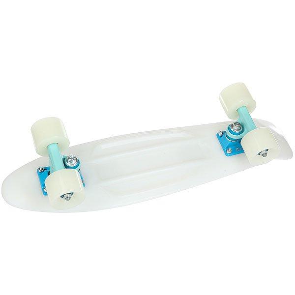 Скейт мини круизер Penny Original 22 Glow Glacial Glow - Blue 6 x 22 (55.9 см)<br><br>Цвет: белый<br>Тип: Скейт мини круизер<br>Возраст: Взрослый<br>Пол: Мужской