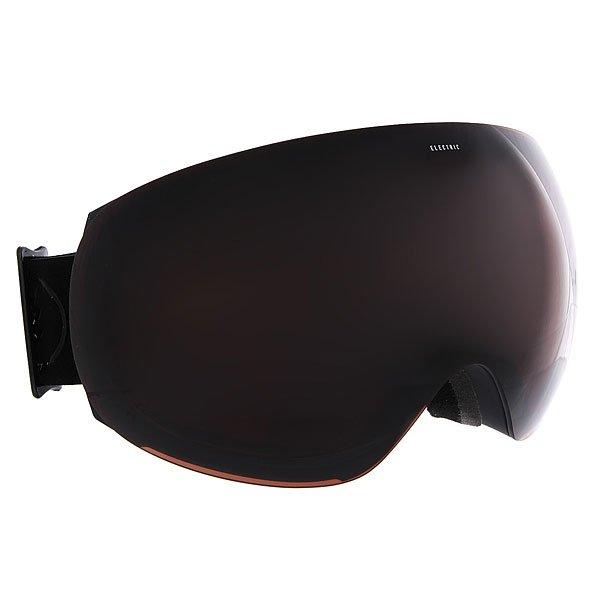 Маска для сноуборда Electric Eg3 Matte Black+Black/Brose