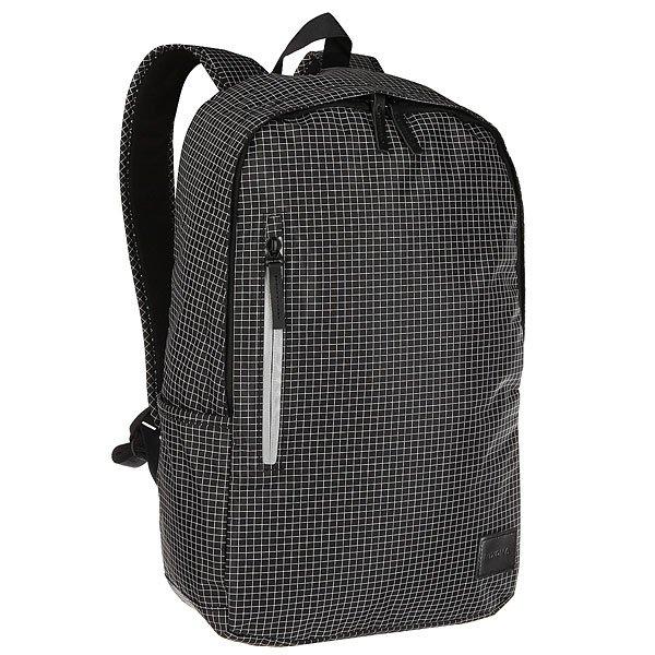 цена Рюкзак городской Nixon Smith Backpack Se Black Grid онлайн в 2017 году