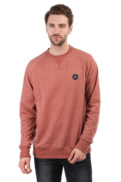Толстовка свитшот Billabong All Day Crew Red Clay