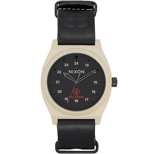 Кварцевые часы Nixon Time Teller Bone/Black Taka часы nixon corporal ss matte black industrial green