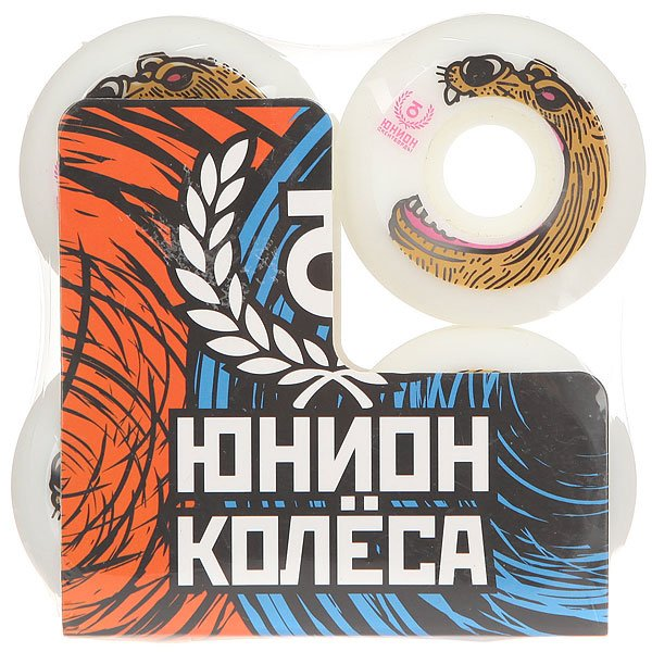 Колеса для скейтборда для скейтборда Юнион Bear Ф5 White/Brown 101A 52 mmДиаметр: 52 mm    Жесткость: 101A    Цена указана за комплект из 4-х колес<br><br>Цвет: черный,белый,коричневый<br>Тип: Колеса для скейтборда
