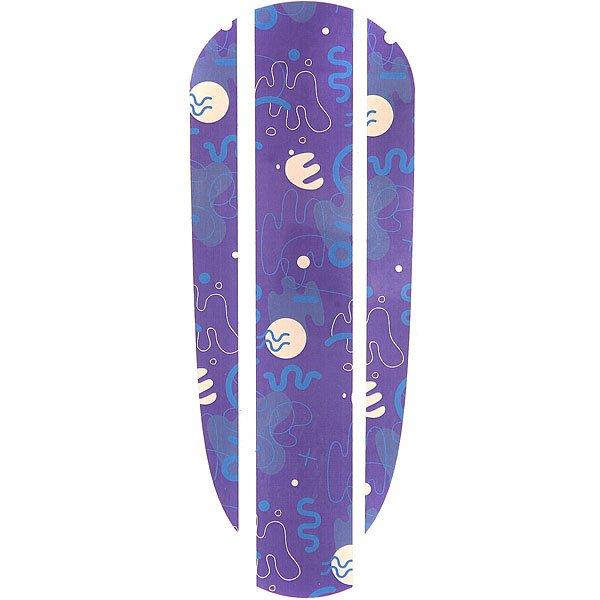 Наклейка на деку Пластборд Sea Sticker 22.5 PurpleВнешний вид наклейки продуман до мелочей. Все элементы внимательно скомбинированны и хорошо подходят друг к другу. Эта модель будет хорошей покупкой или презентом на день рождения. Наклейка Пластборды великолепно подойдет под ваш образ и покажет вас в выгодной ситуации и на концерте и на улице.<br><br>Цвет: фиолетовый,бежевый<br>Тип: Наклейка на деку