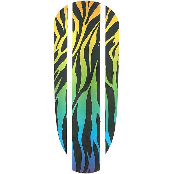 Наклейка на деку Пластборд Zebra Sticker 22.5 Black/Multi<br><br>Цвет: мультиколор,черный<br>Тип: Наклейка на деку