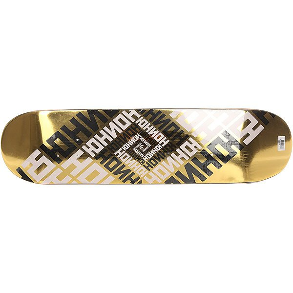 Дека для скейтборда для скейтборда Юнион Skateboard Team Gold 32 x 8 (20.3 см) дека для скейтборда для скейтборда юнион dodonadze multi 32 x 8 25 21 см