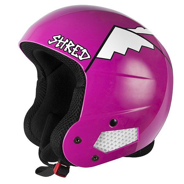 Шлем для сноуборда женский Shred Brain Bucket Whyweshred PinkПрочный женский шлем создан для райдеров, которым нужна полная защита без ущерба производительности и комфорта.Технические характеристики: Съемная подкладка и подушечки для ушей.Удобная посадка и настройка по размеру.Технология Dual Density EPS Liner разработана для поглощения ударов и защиты в ключевых зонах.Технология защиты ICEdot™ -  сервис экстренного оповещения, который синхронизирует надежный онлайн профиль с наклейкой шлема, содержащей уникальный код. Сервис отправляет уведомления о помощи в случае экстренной ситуации.Подкладка SHREDDry обеспечивает комфорт, впитывает влагу.<br><br>Цвет: розовый<br>Тип: Шлем для сноуборда<br>Возраст: Взрослый<br>Пол: Женский