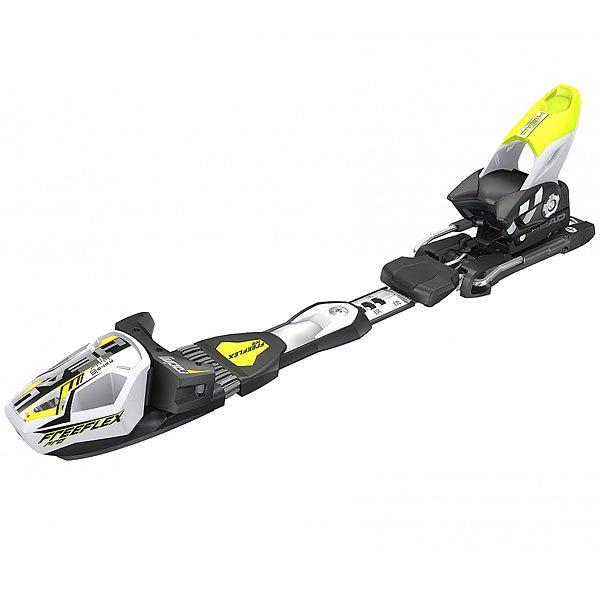 Крепления для лыж Head Freeflex Pro 16 Brake 85[a] YellowСупер быстрые спортивные крепления! Супер контроль для высокой скорости! Затяжка DIN 5-16, высота 19 мм, антиблокировочная система ABS, Race диагональ.Технические характеристики: Высота 19 мм.Затяжка Дин 5-16.Головка AERO + TRP система.RACE диагональ.Система FREE FLEX PRO способствует правильной работе лыж в поворотах. Новая конструкция пятки спортивных креплений: мощнее хватка, лучше трансмиссия, сильнее контроль.Антиблокировочная система ABS.Пятка RACE PRO.Износостойкое покрытие.Вес 2680г.Скистоп BR.85[A].<br><br>Цвет: черный,зеленый<br>Тип: Крепления для лыж<br>Возраст: Взрослый<br>Пол: Мужской