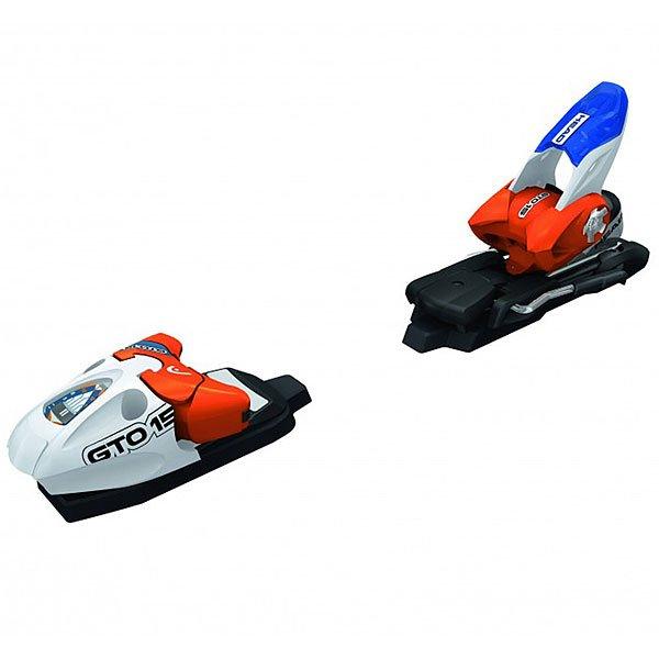 Крепления для лыж Head Gto 15 White/Orange/BlueСпортивные крепления с затяжкой до 15 DIN.Технические характеристики: Высота 17 мм.Затяжка Дин 5-15.Головка AERO + TRP система.RACE диагональ.Пятка RACE PRO.Износостойкое покрытие.Вес 2255г.От 49 кг.<br><br>Цвет: белый,синий,оранжевый<br>Тип: Крепления для лыж<br>Возраст: Взрослый<br>Пол: Мужской