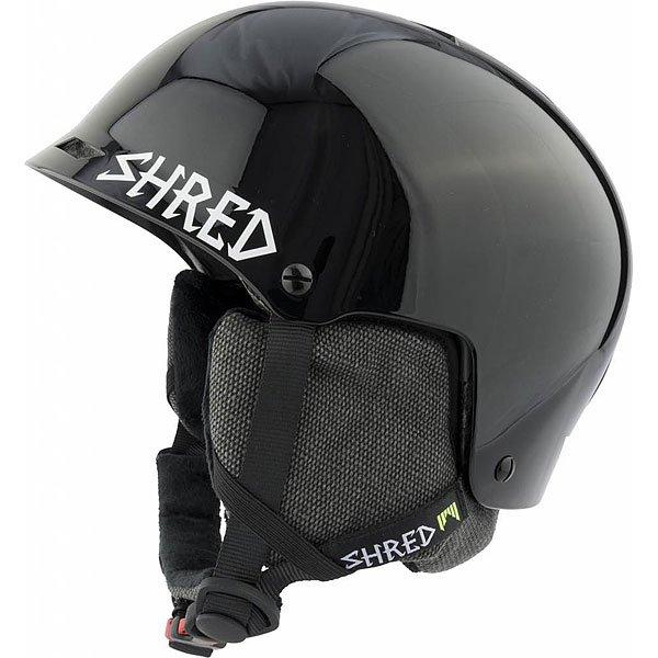 цена на Шлем для сноуборда Shred Half Brain D-lux Black Out