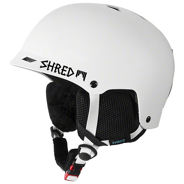 Шлем для сноуборда Shred Half Brain D-lux Bleach White<br><br>Цвет: белый<br>Тип: Шлем для сноуборда<br>Возраст: Взрослый<br>Пол: Мужской