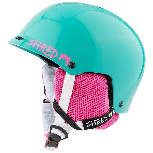 Шлем для сноуборда Shred Half Brain Mint<br><br>Цвет: зеленый,розовый<br>Тип: Шлем для сноуборда<br>Возраст: Взрослый<br>Пол: Мужской