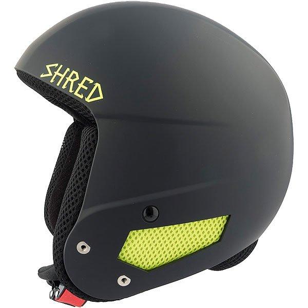 Шлем для сноуборда Shred Mega Brain Bucket Bail Black/Yellow