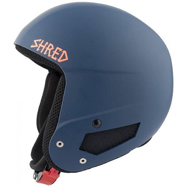 Шлем для сноуборда Shred Mega Brain Bucket Grab Navy BlueСертифицированный шлем отвечающий нормам FIS 2013 RH. Благодаря технологии SLYTECH 2ND SKiN™ шлем обладает высокой прочностью и многонаправленно рассеивает силу удара.Технические характеристики: Съемная подкладка и подушечки для ушей облегчают чистку.Съемная подкладка из гигиеничного материала X-Static.Удобная посадка и настройка по размеру.Регулируемые подушечки для ушей.Металлические пряжки с системой быстрого открывания.Технология SLYTECH NOSHOCK - специальные вставки в форме сот из твердеющего нано материала SLYTECH 2nd SKIN XT встроены во внутреннюю конструкцию шлема и абсорбируют удары, рассеивая их энергию по пластику.Технология защиты ICEdot™ -  сервис экстренного оповещения, который синхронизирует надежный онлайн профиль с наклейкой шлема, содержащей уникальный код. Сервис отправляет уведомления о помощи в случае экстренной ситуации.<br><br>Цвет: синий<br>Тип: Шлем для сноуборда<br>Возраст: Взрослый<br>Пол: Мужской