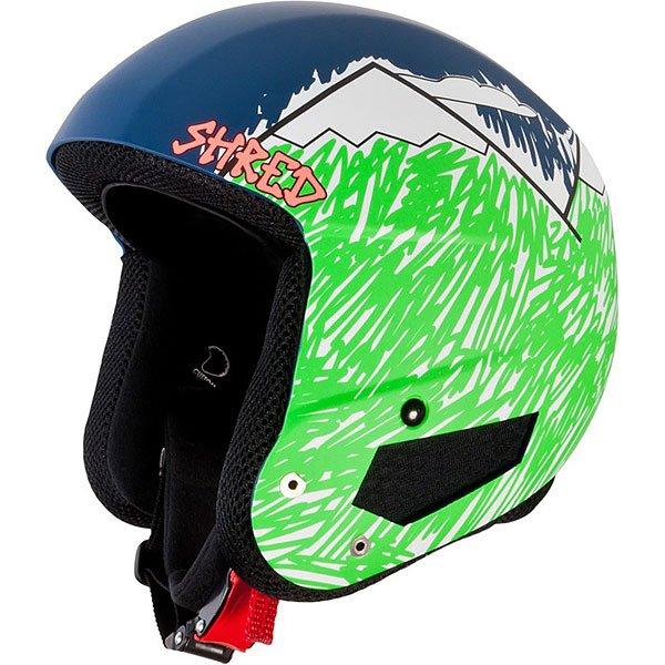 Шлем для сноуборда Shred Mega Brain Bucket Needmoresnow Navy/GreenСертифицированный шлем отвечающий нормам FIS 2013 RH. Благодаря технологии SLYTECH 2ND SKiN™ шлем обладает высокой прочностью и многонаправленно рассеивает силу удара.Технические характеристики: Съемная подкладка и подушечки для ушей облегчают чистку.Съемная подкладка из гигиеничного материала X-Static.Удобная посадка и настройка по размеру.Регулируемые подушечки для ушей.Металлические пряжки с системой быстрого открывания.Технология SLYTECH NOSHOCK - специальные вставки в форме сот из твердеющего нано материала SLYTECH 2nd SKIN XT встроены во внутреннюю конструкцию шлема и абсорбируют удары, рассеивая их энергию по пластику.Технология защиты ICEdot™ -  сервис экстренного оповещения, который синхронизирует надежный онлайн профиль с наклейкой шлема, содержащей уникальный код. Сервис отправляет уведомления о помощи в случае экстренной ситуации.<br><br>Цвет: синий,зеленый<br>Тип: Шлем для сноуборда<br>Возраст: Взрослый<br>Пол: Мужской