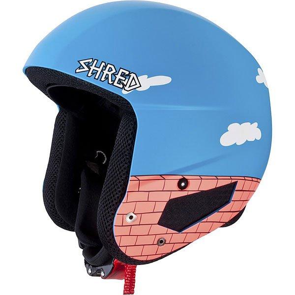 Шлем для сноуборда Shred Mega Brain Bucket The Guy Blue/RustСертифицированный шлем отвечающий нормам FIS 2013 RH. Благодаря технологии SLYTECH 2ND SKiN™ шлем обладает высокой прочностью и многонаправленно рассеивает силу удара.Технические характеристики: Съемная подкладка и подушечки для ушей облегчают чистку.Съемная подкладка из гигиеничного материала X-Static.Удобная посадка и настройка по размеру.Регулируемые подушечки для ушей.Металлические пряжки с системой быстрого открывания.Технология SLYTECH NOSHOCK - специальные вставки в форме сот из твердеющего нано материала SLYTECH 2nd SKIN XT встроены во внутреннюю конструкцию шлема и абсорбируют удары, рассеивая их энергию по пластику.Технология защиты ICEdot™ -  сервис экстренного оповещения, который синхронизирует надежный онлайн профиль с наклейкой шлема, содержащей уникальный код. Сервис отправляет уведомления о помощи в случае экстренной ситуации.<br><br>Цвет: голубой,коричневый<br>Тип: Шлем для сноуборда<br>Возраст: Взрослый<br>Пол: Мужской