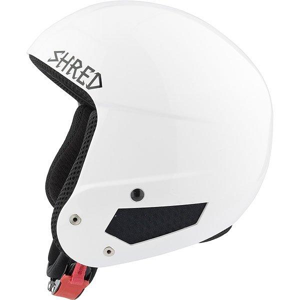 Шлем для сноуборда Shred Mega Brain Bucket Wipeout White