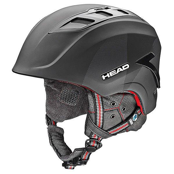 Шлем для сноуборда Head Sensor Black<br><br>Цвет: черный<br>Тип: Шлем для сноуборда<br>Возраст: Взрослый<br>Пол: Мужской