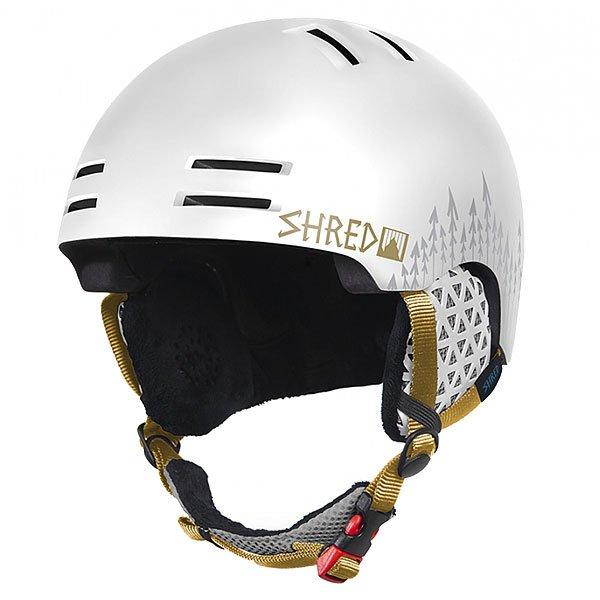 Шлем для сноуборда Shred Slam-cap White Out