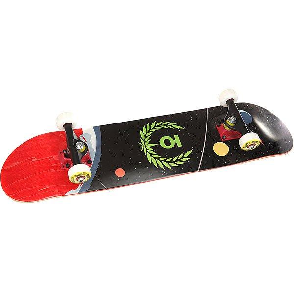 Скейтборд в сборе Юнион Space Black/Multi 31.25 x 7.6 (19.3 см)