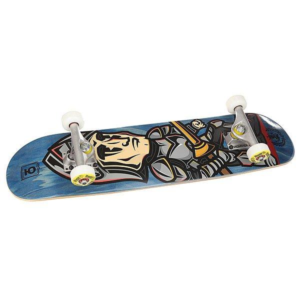 Скейтборд в сборе детский Юнион George Blue 28 x 7 (17.8 см)