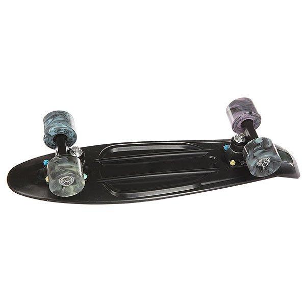 Скейт мини круизер Пластборд Torse Real Black 6 x 22.5 (57.2 см)Пластборд  - это пластиковый скейтборд-круизер с загнутым хвостом для передвижения по городу и трюкачества. Очень прочная дека, качественные подвески, подшипники и колеса сделают вашу езду плавной и комфортной.Технические характеристики: Дека из прочного полиуретана повышенной прочности и эластичности.Подвески из алюминия.Бушинги Union 89А.Подшипники - Union Water Prof Abec7 (водонепроницаемая конструкция).Колеса - круизного типа Union Virage диаметром 59 мм со стандартной мягкостью 83А.Нестирающееся цепкое покрытие.Различные расцветки в ассортименте.<br><br>Цвет: черный<br>Тип: Скейт мини круизер